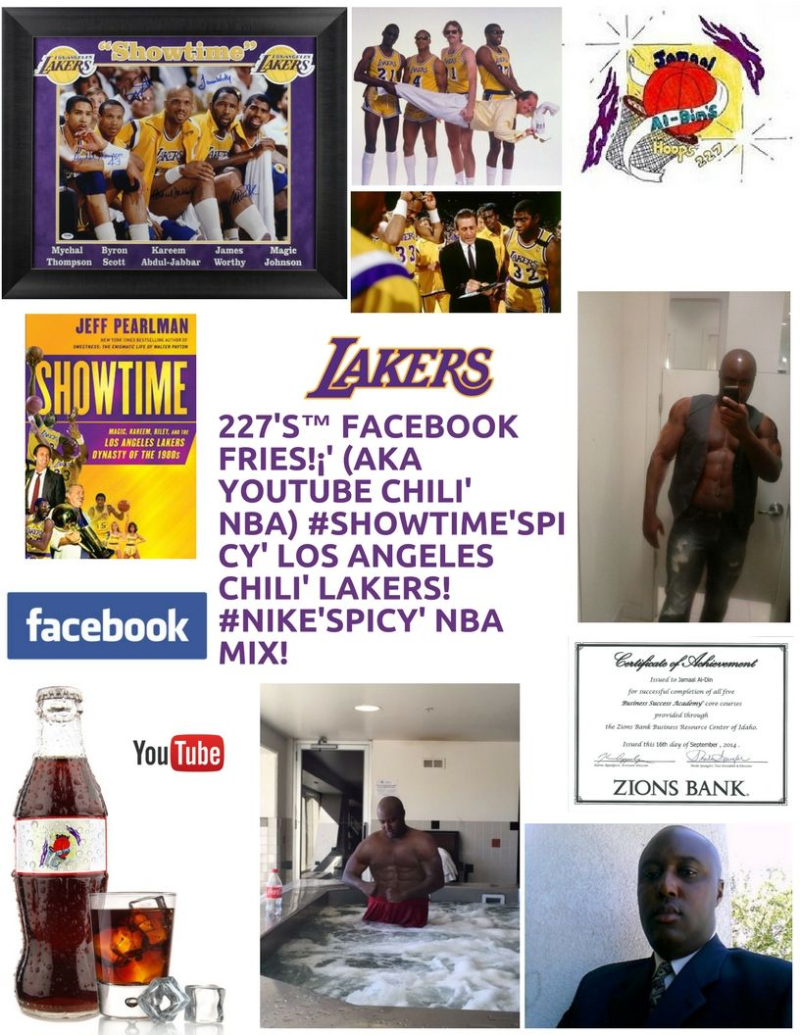 Los Angeles Chili' Lakers Spicy' Chili' 227's Hoops 227 Spicy' NBA Chili' Mix! 1 Spicy' (3)