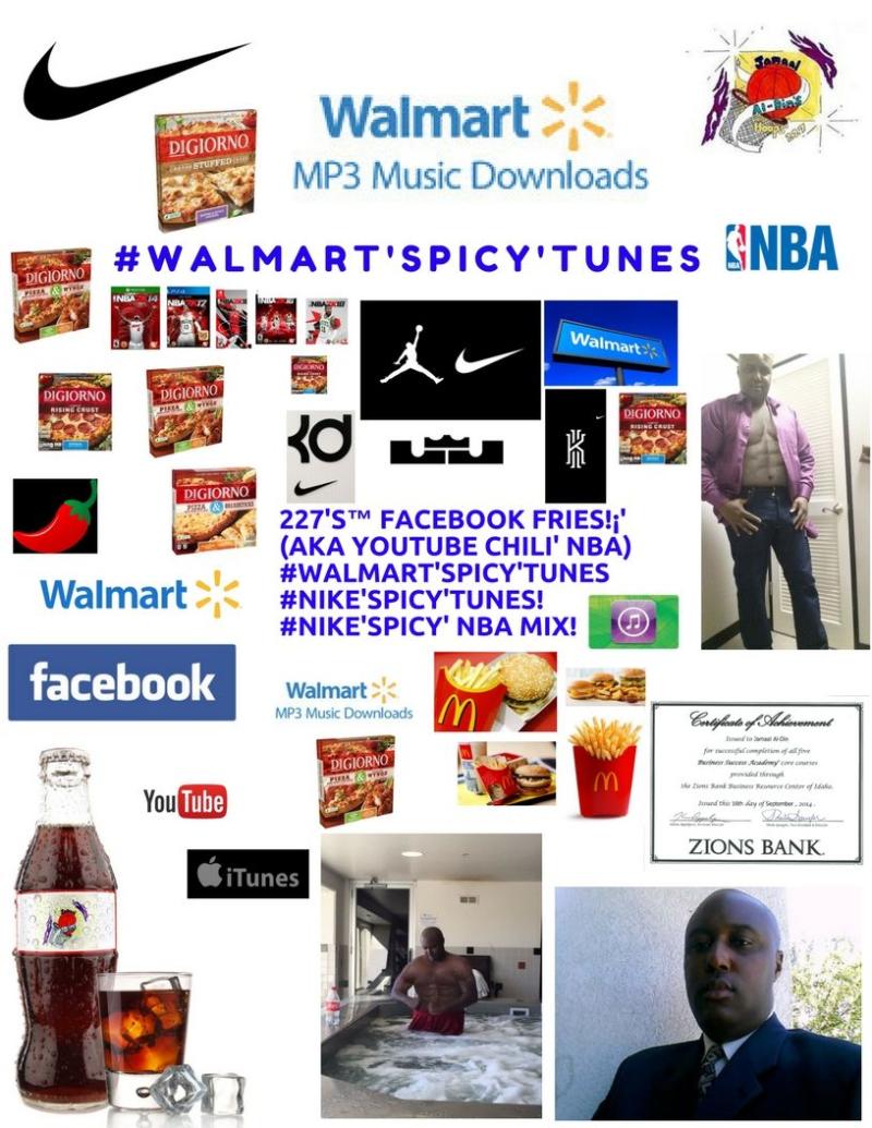 DiGiorno Pizza Chili' #Walmart'SPICY'Tunes! #NIKE'SPICY'Tunes Spicy' NBA MIX! Spicy' Basketball 227's Hoops 227 Spicy' NBA Chili' Mix! 1 Spicy' Chili'