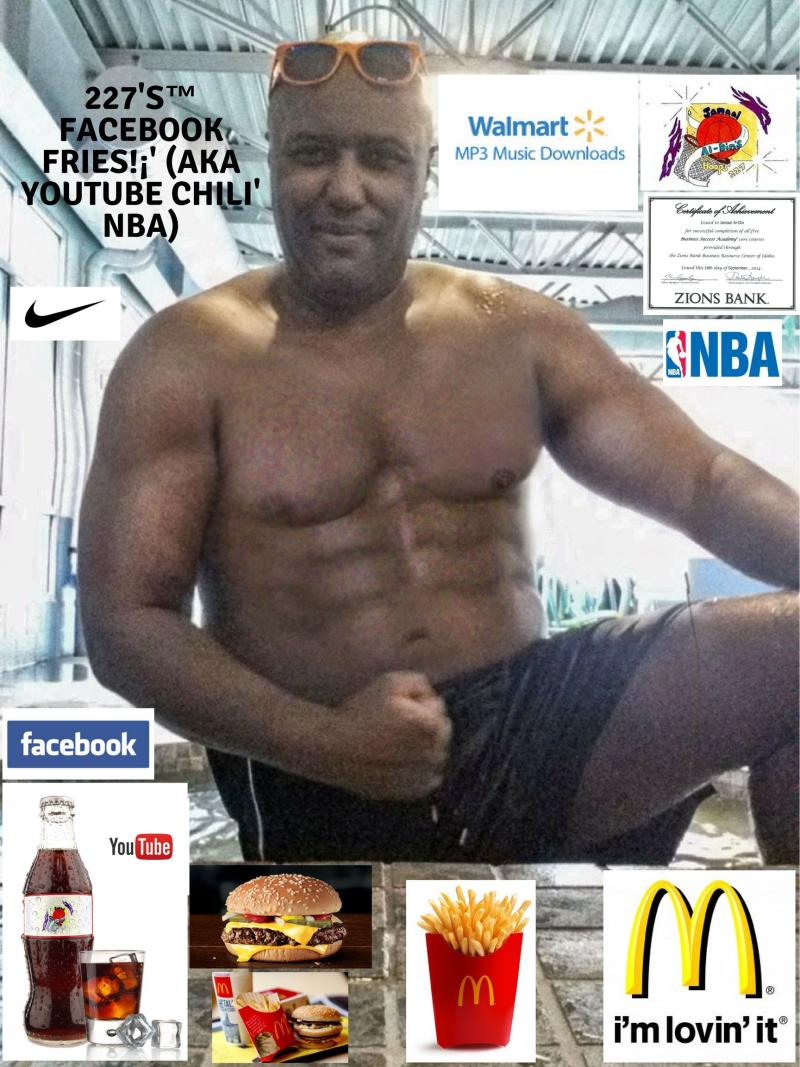 McDonald's Chili'! 227's™ Facebook Fries!¡' (aka YouTube Chili' NBA) Spicy' Chili' Basketball! #Nike'Spicy'Tunes #Walmart'Spicy'Tunes Spicy' NBA Mix! (1)