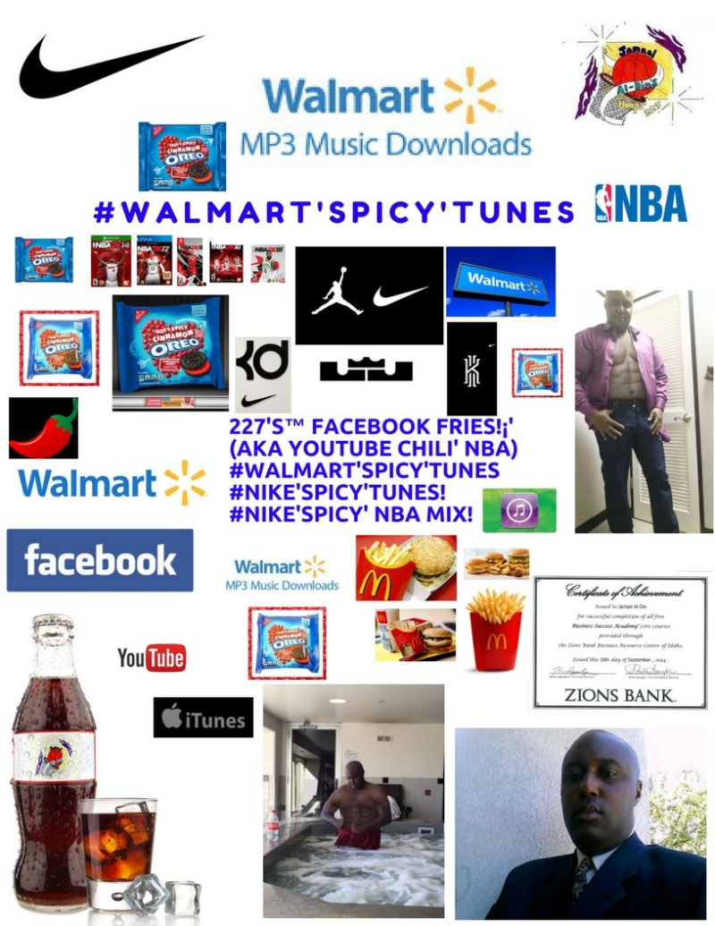 Oreo Chili' #Walmart'SPICY'Tunes! #NIKE'SPICY'Tunes Spicy' NBA MIX! Spicy' Basketball 227's Hoops 227 Spicy' NBA Chili' Mix! 1 Spicy' Chili'