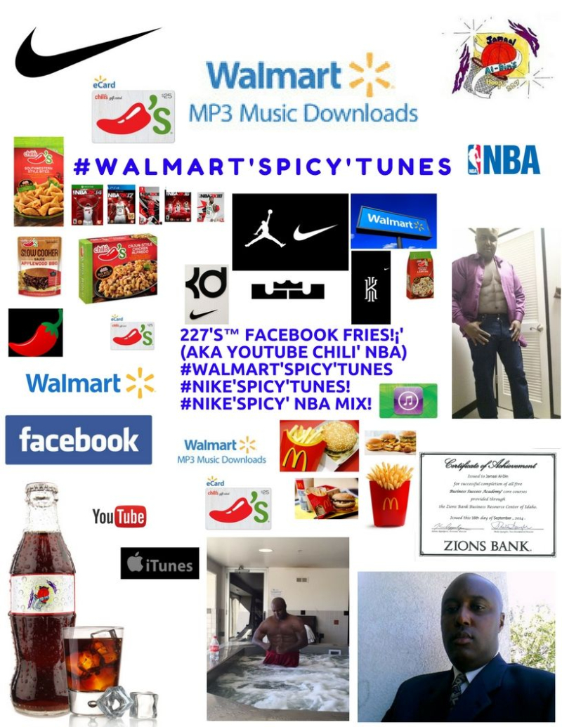 Chili's Chili' #Walmart'SPICY'Tunes! #NIKE'SPICY'Tunes Spicy' NBA MIX! Spicy' Basketball 227's Hoops 227 Spicy' NBA Chili' Mix! 1 Spicy' Chili'