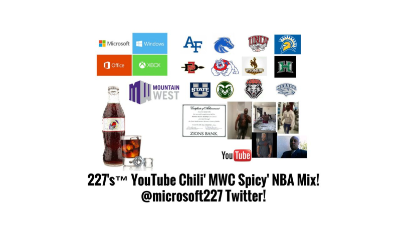 227's™ YouTube Chili' MWC Spicy' NBA Mix!