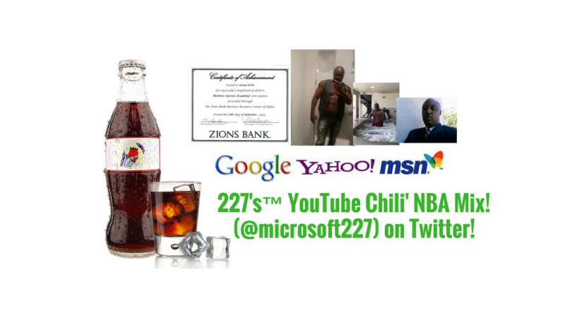 227's™ YouTube Chili' NBA Mix! (@microsoft227) on Twitter!