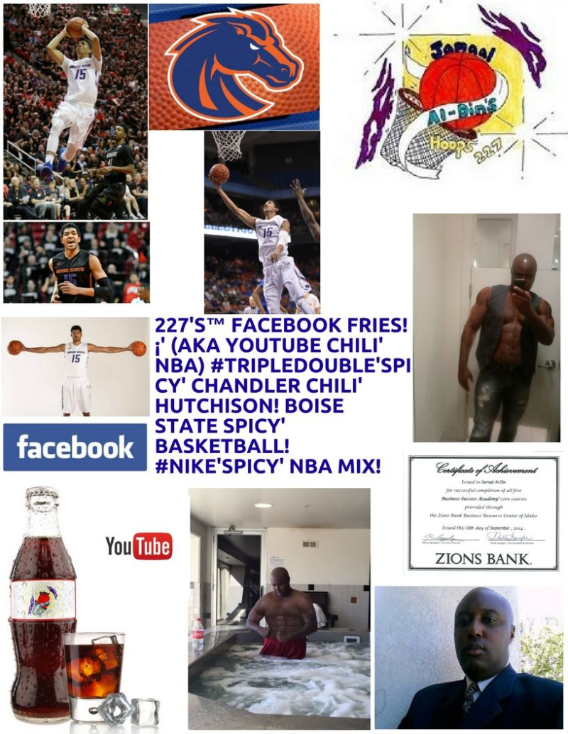 Chandler Chili' Hutchison Boise State Spicy' Basketball 227's Hoops 227 Spicy' NBA Chili' Mix! 1 Spicy' (1)