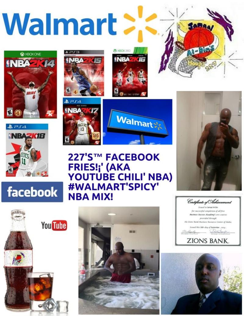Walmart Chili' 227's Hoops 227 Spicy' NBA Chili' Mix! 1 Spicy' (2)