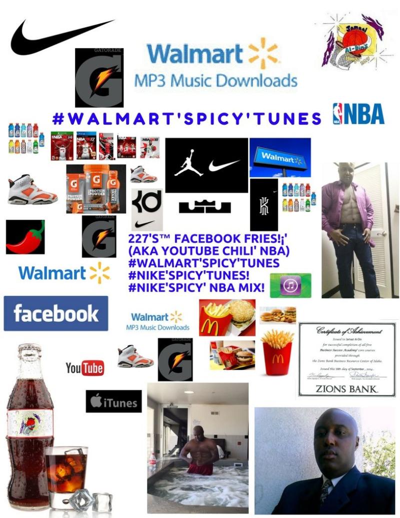 Gatorade Chili' #Walmart'SPICY'Tunes! #NIKE'SPICY'Tunes Spicy' NBA MIX! Spicy' Basketball 227's Hoops 227 Spicy' NBA Chili' Mix! 1 Spicy' Chili'