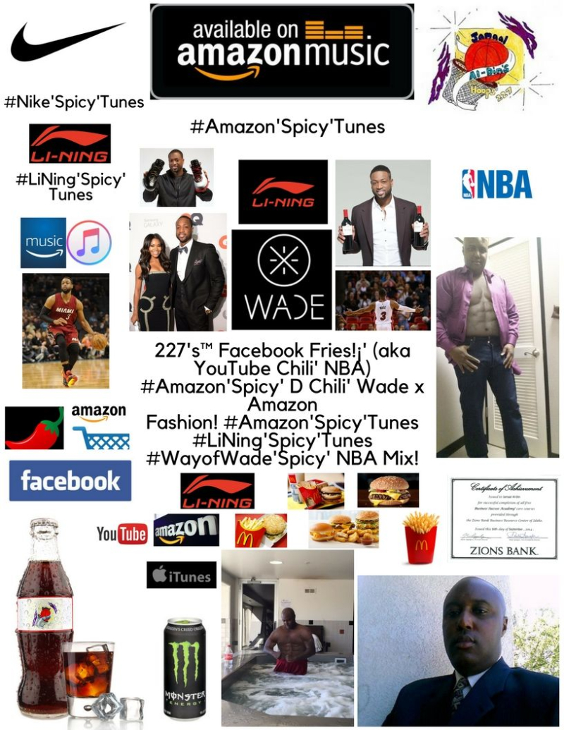 227's Facebook Fries!¡' (aka YouTube Chili' NBA) #LiNing'Spicy'Tunes #WayofWade'Spicy' NBA Mix! Spicy' Chili' Basketball! Spicy' Chili' 1 (1)