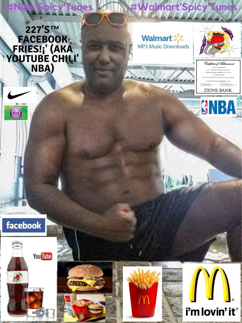 McDonald's Chili'! 227's™ Facebook Fries!¡' (aka YouTube Chili' NBA) Spicy' Chili' Basketball! #Nike'Spicy'Tunes #Walmart'Spicy'Tunes Spicy' NBA Mix! (4)