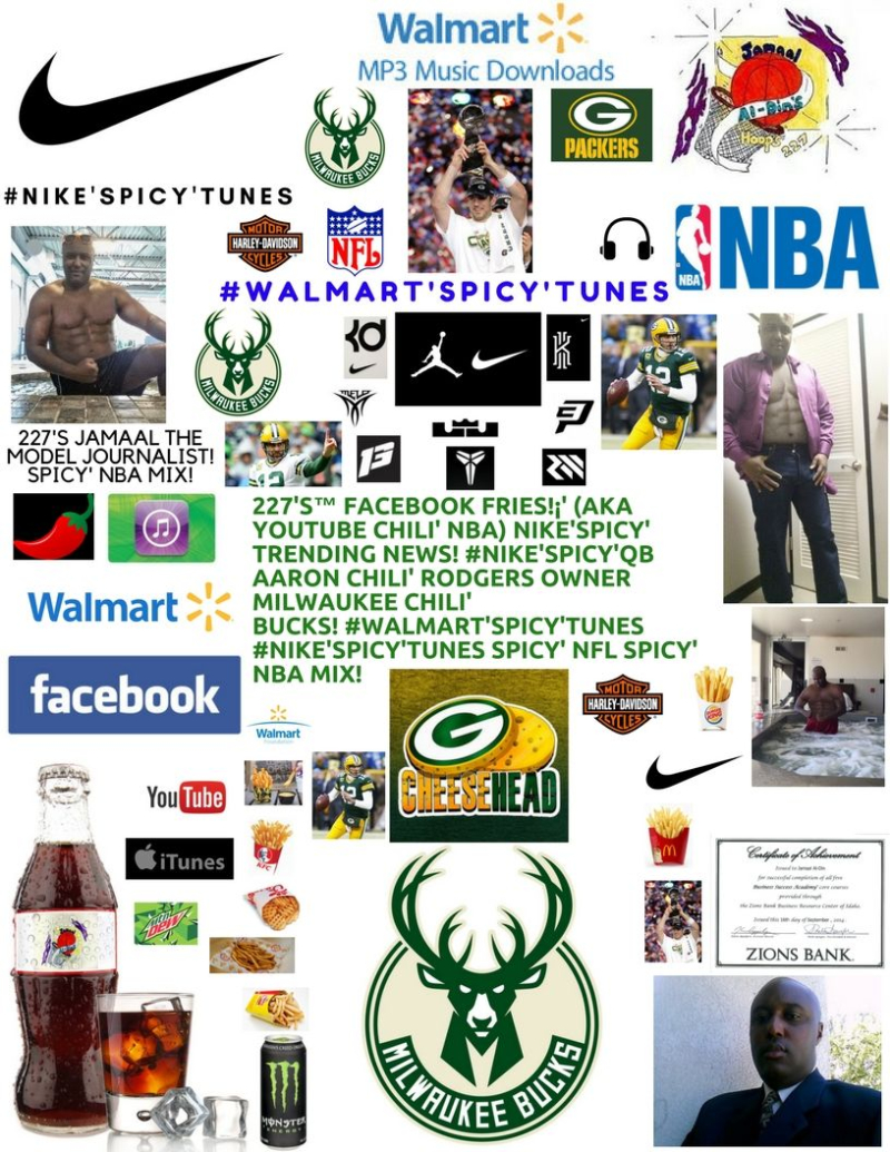 fa14ceec8dfe 227 s™ Facebook Fries!¡  (aka YouTube Chili  NBA)  Nike Spicy Tunes ...
